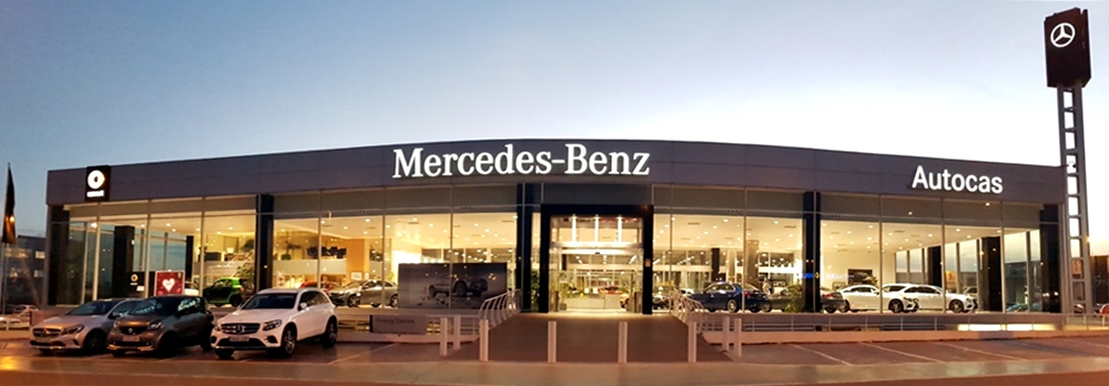 Autocas Mercedes-Benz Home